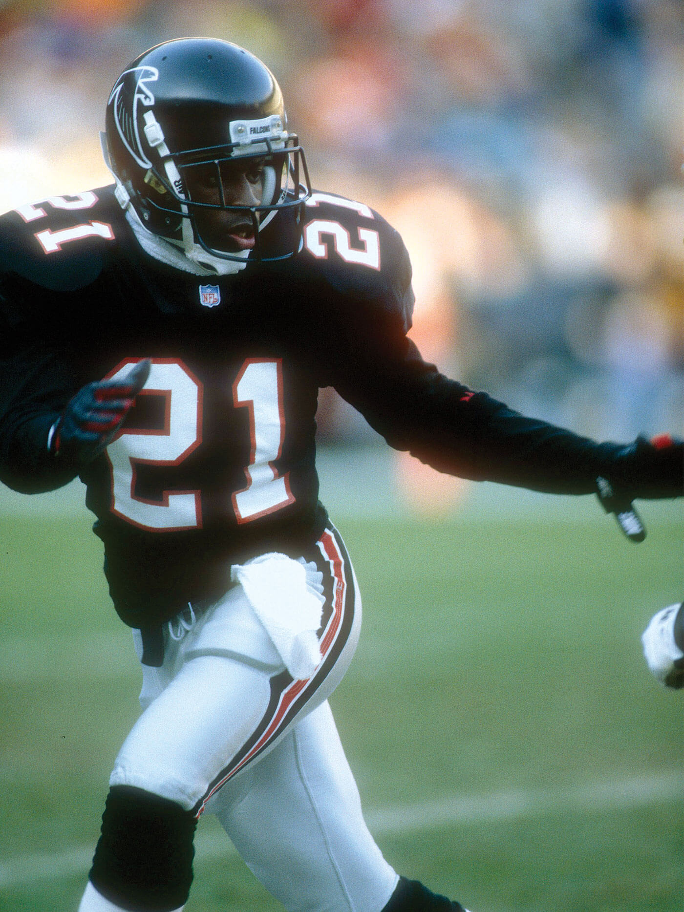 aee7845f It took a man—not a marketing team—to restore the luster of the jersey.  That man was Deion Sanders. He made glorious interceptions while taking  punt returns ...