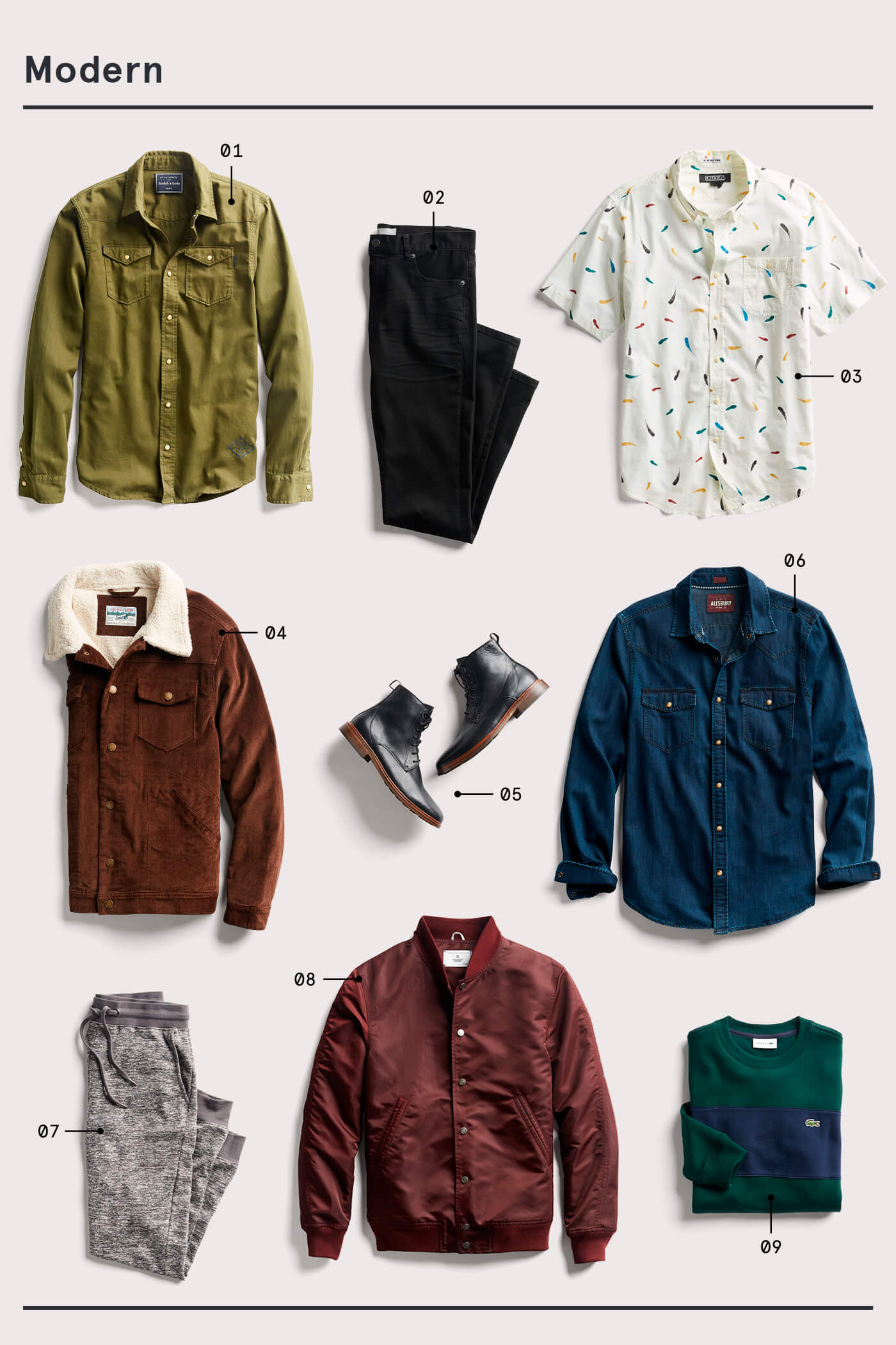 men's modern style essentials