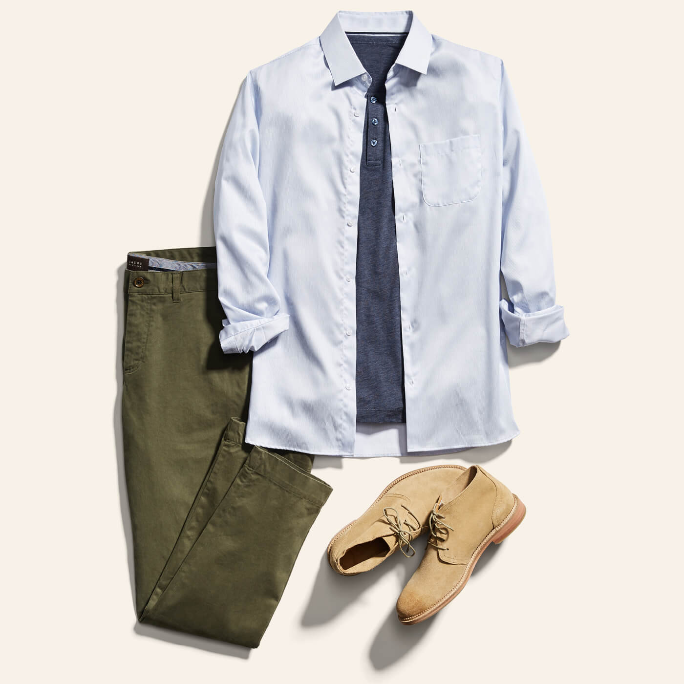 How to Dress Down a Dress Shirt