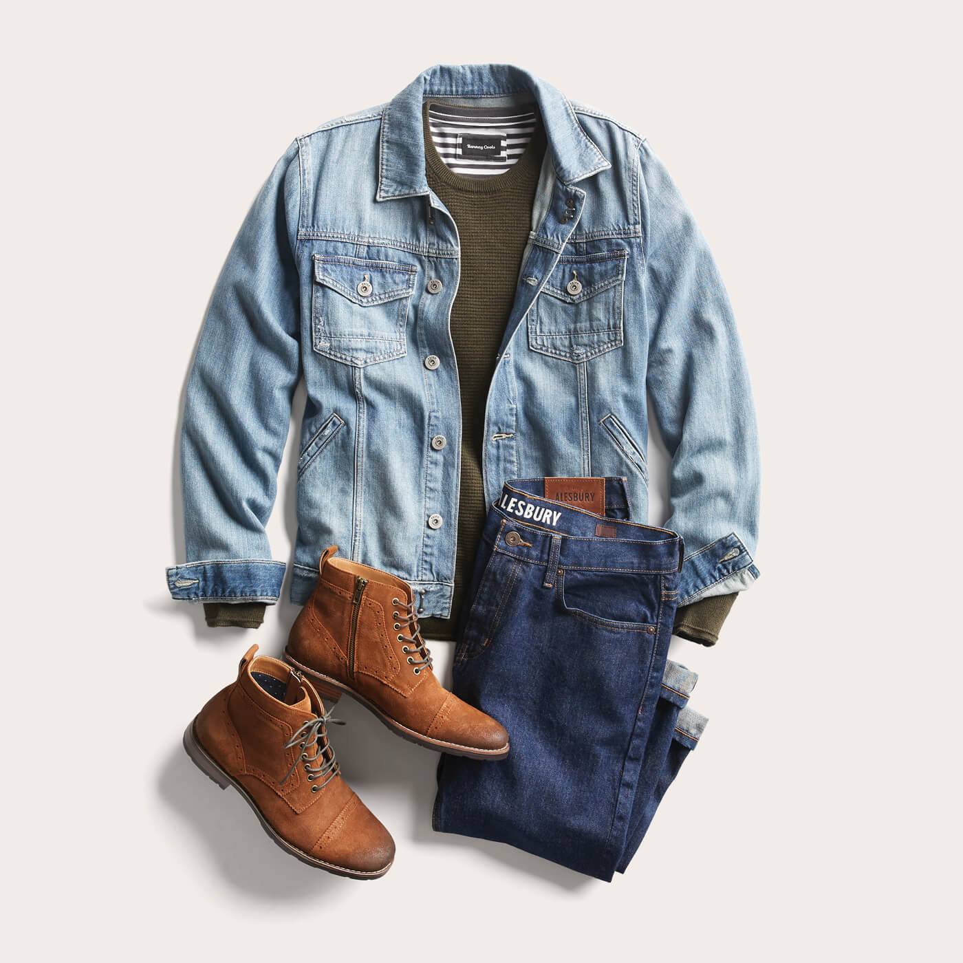 df8b35ba8a2 What do I wear with a jean jacket
