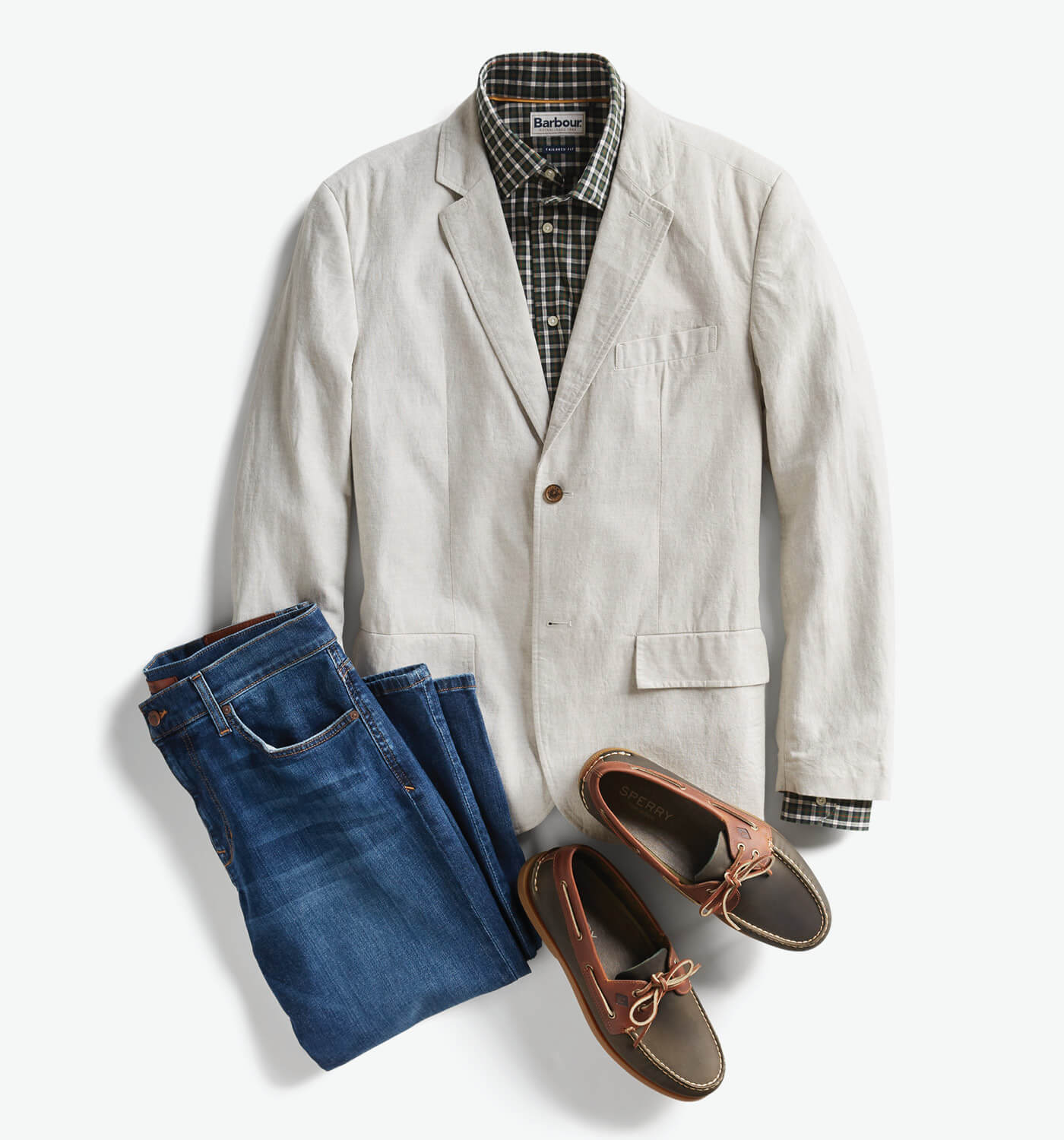 men's smart casual attire